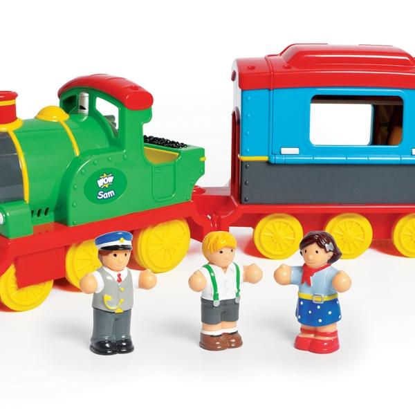 Sam The Steam Train