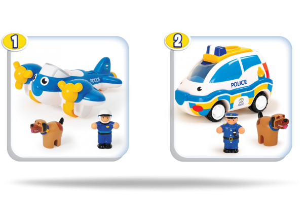 Police Patrol Pals (Twin pack)